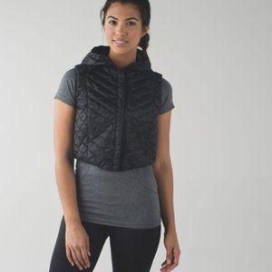 Lululemon Wind Runner Down Packable Vest Size 6